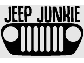 Jeep Junkie Sign