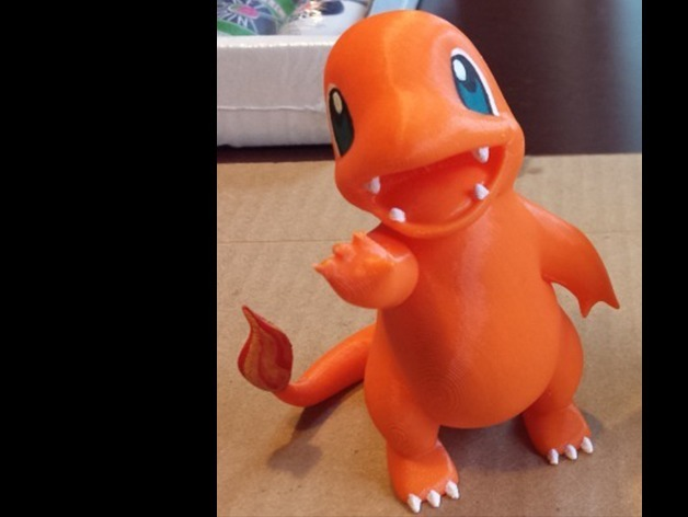 charmander by classygoat thingiverse