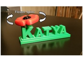 Katya Poppy Spinner