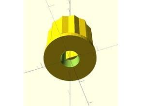 Knob for rotary encoder