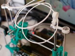Portabee Z-RodEnd Filament Guide