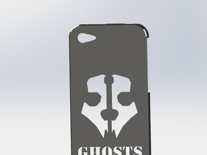 Iphone Call of Duty phone case 4s