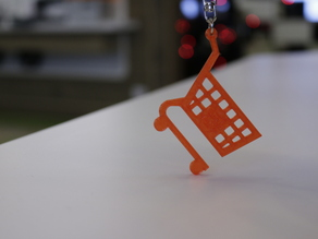 Cart Keychain made by Cardif Lab