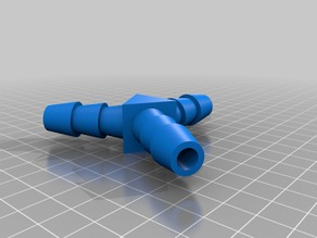 Y-shaped Pipe / Tube / Hose Connector - 16 mm
