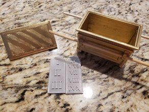 Ten Commandments Mini Tablets