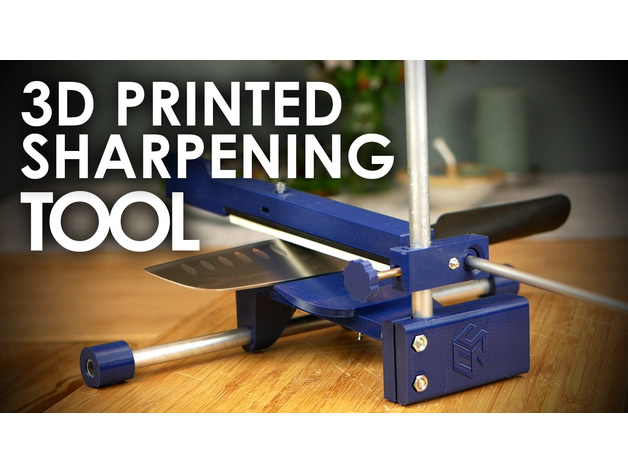Knife Sharpening Tool V2 1 With Video By Cnckitchen