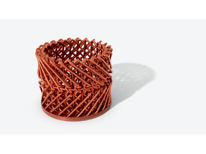 Cool Knot Woven Basket