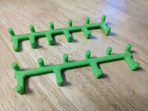 Peg Board Spanner Rack