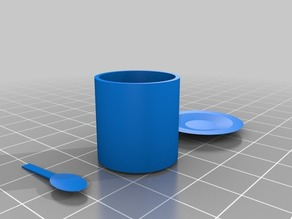 CSP(Cup, Spoon, Plate)