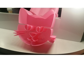 Kitty Cat Vase Container