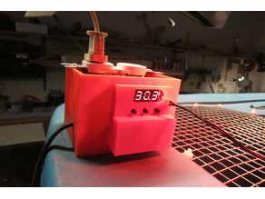 Temperature control switch 1209 enclosure