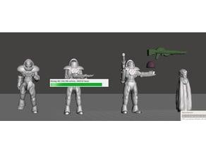 Robotech Zentran Production Line 4 set 1 (4 units)