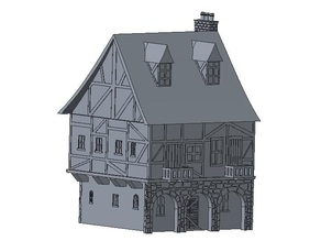 Another Tudor style house for wargaming