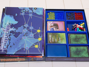 Pandemic (along with On the Brink) Storage Solution