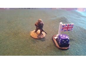 British Union Jack Pin Marker