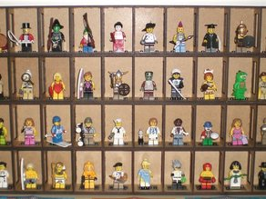 Shelf for Lego minifigures