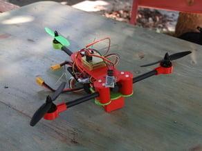 Tricopter - La FraiseVolante (OpenSCAD)