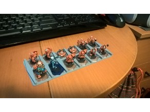 Dreadball Hex Base Rack