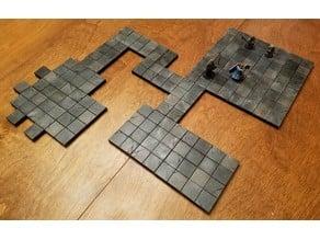 #NoWalls Standard Dungeon Tiles (OpenLock/MagBall)