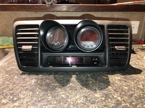 Legacy GT / Outback XT Cubby Gauge Pod