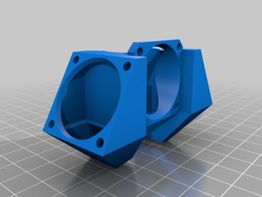 E3D v6 Fan Shroud and Part Cooling Fans, 30mm