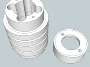 Printed BB filled Linear Bearing  (BYOBB)
