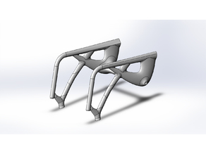 Wheelchair Frame for 3D printing process