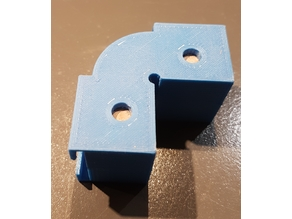 Corners for belt framing press (coin pour presse à sangle)