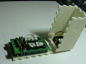 Modular RepRap RAMPS Electronics Case