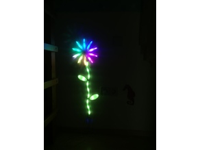 Nanoleaf inspired Flower for Children´s room