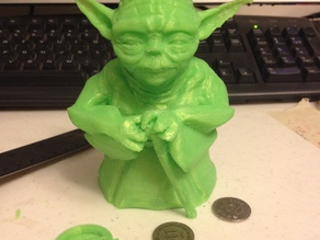 Standing Yoda Figure - Piggy Bank