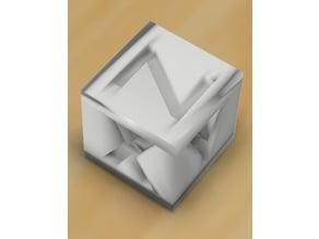 Customizable calibration cube
