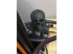 Skull (Voronoi style) Extruder spinner