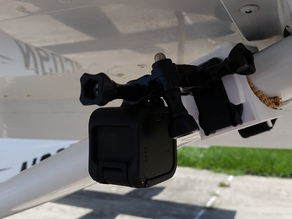 Cessna Wing Strut Camera GoPro mount