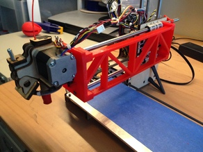 PrintrBot Simple Y-Axis GT2 Belt & Extension