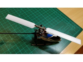 Nano helicopter blade 130x ncpx