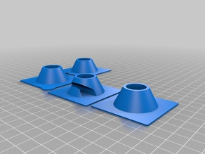 Prusa Lack Enclusure locating cones with full hole
