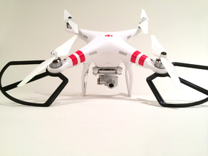 DJI Phantom 1/2/3 Vision (Vision +) Prop Guards