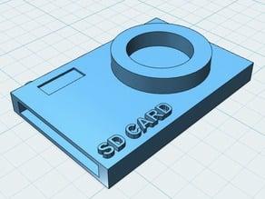 Camera SD Card Holder