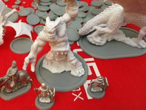 Recessed Monster Bases (15mm scale)