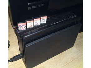 Switch Game Cartridge Holder
