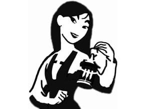 Mulan stencil