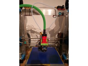 Single Hotend Mount and Bowden Splitter for prusa I3