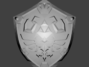 Legend of Zelda: Ocarina of Time - Hyrule Shield