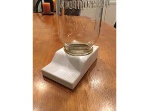 Beehive Bee Feeder for Quart (32 oz) Mason Jar