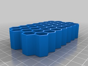 AAA battery box container