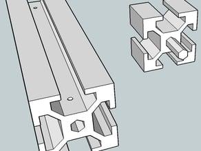 T- slot profile 30X30mm