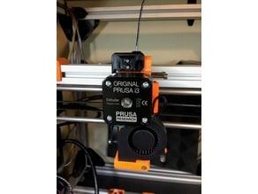 Prusa i3 MK2 Filament Filter and Runout Sensor