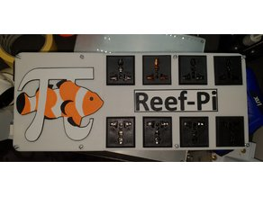 reef-pi Aquarium Controller Housing and Power Board