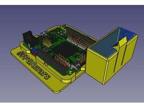 IceZum Alhambra support with 9 volts battery holder